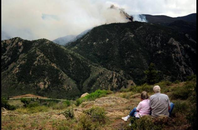 Incendios forestales Estados Unidos