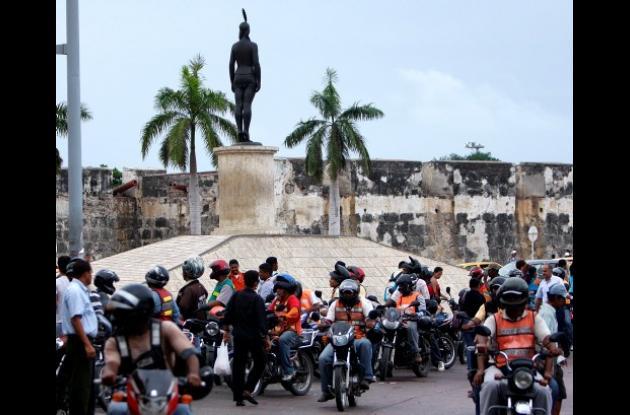 Día sin motos