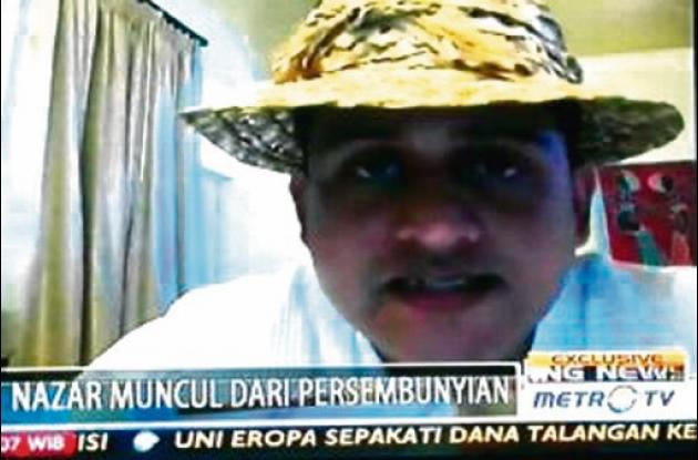 Muhammad Nazaruddin fue capturado por la Interpol en el barrio Bocagrande.