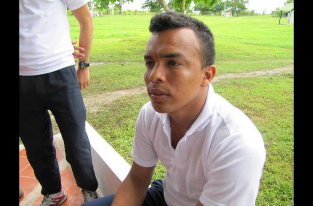 David Yunda, director de Bienestar Social de la Armada.