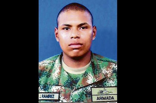 John Anderson Ramírez Estrada, infante fallecido.