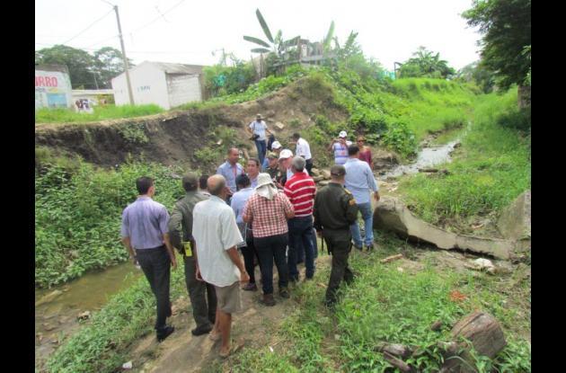 caños y canales recorrido prevencion en lluvias