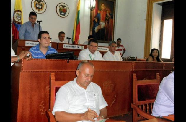 Instalación del segundo periodo ordinario de sesiones de la Asamblea de Bolívar.