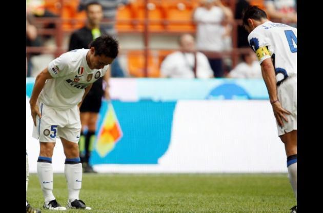 Inter se despide con victoria ante el Catania