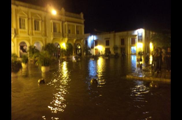 Inundaciones en el Centro Histórico