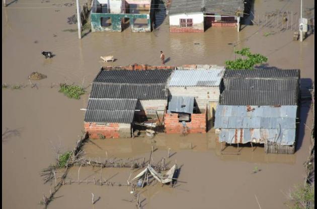 Alrededor de 500 familias de San Estanislao de Kostka (Arenal) sufren por las in