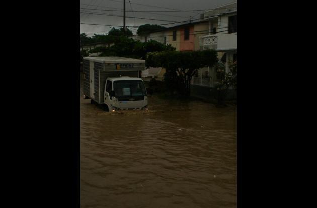 Inundación en Villa Rubia