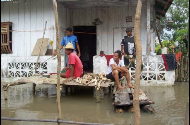 Las comunidades de Yatí y Camilo Torres sufrieron las emergencias invernales de