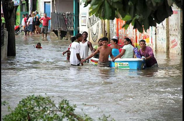 Inundaciones en Cartagena.