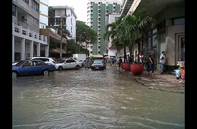 El Centro sigue inundado