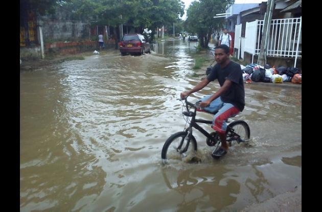 Villa Rosita, inundada otra vez