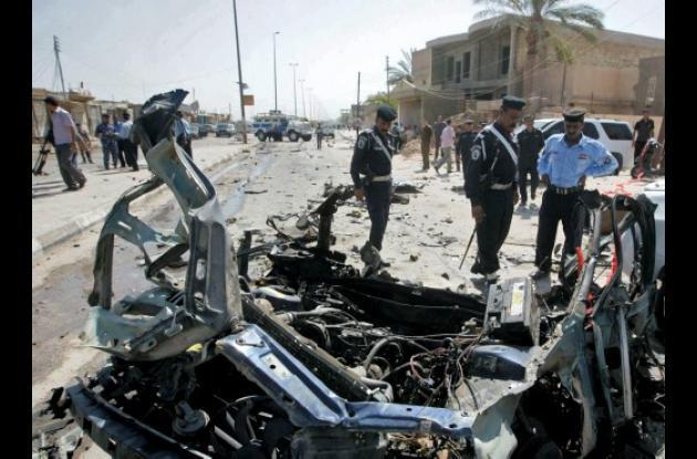 Ésta es la jornada más sangrienta desde el inicio del año irak explosiones