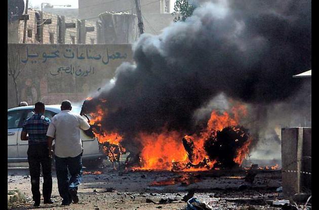 Atentados en Irák