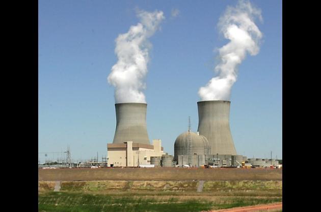 Planta nuclear iraní.