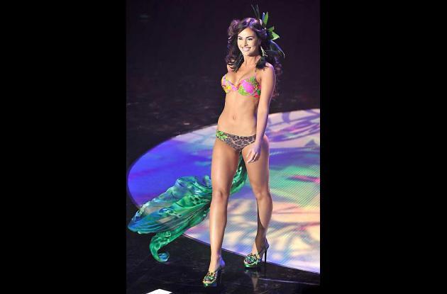 Irene Esser, una joven de 19 años, es la nueva Miss Venezuela.