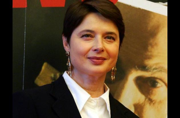 Isabella Rosellini, gran homenajeada en Festival de Cine de Cartagena.