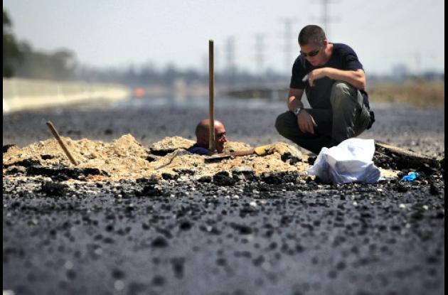 Israel cohetes Gaza bombardeos