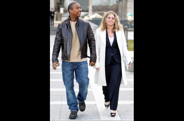 Ja Rule y su abogada Stacey Richman.