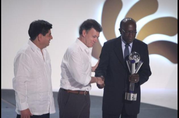 Jack Warner, exvicepresidente de la FIFA.