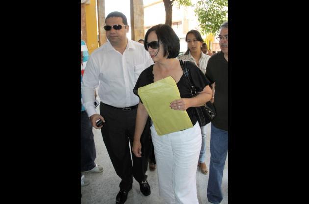 Arcadio Martínez Pumarejo, apoderado de Jacqueline Ramón.