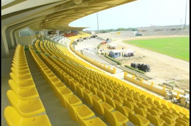 Estadio Jaime Morón León.