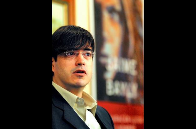 Jaime Bayly, presentador de televisión.