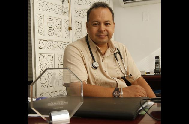 Reconocido médico cartagenero recibe premio pro su trabajo sobre diabetes
