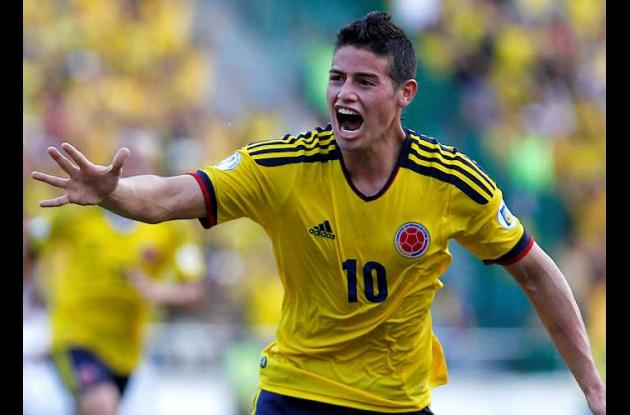 James Rodríguez.