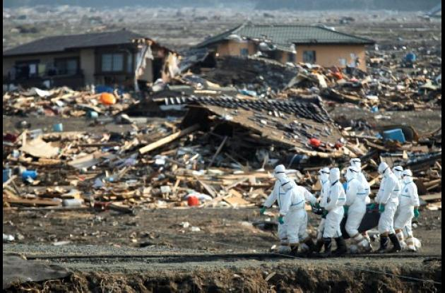 Crisis nuclear en Japón.