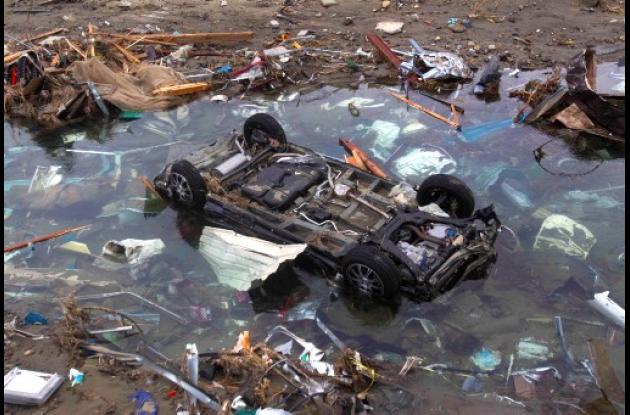 Terremoto, tsunami y crisis nuclear en Japón.