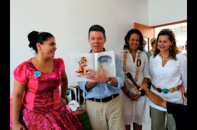 Presidente Santos resalta Jardín Infantil Vía Perimetral