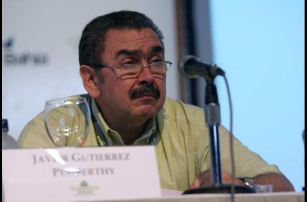 Javier Gutiérrez, gerente de Ecopetrol.