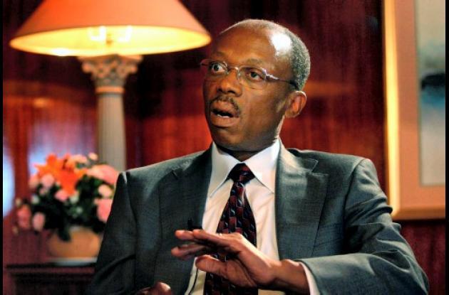 Jean Bertrand Aristide, exsacerdote y primer presidente de Haití elegido democrá