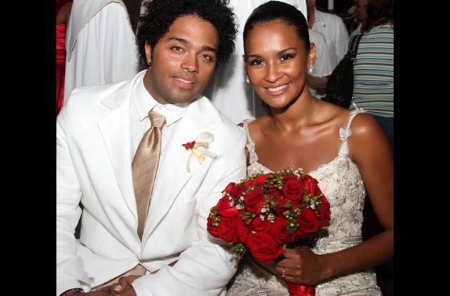 Jair Romero y Jeimy Paola Vargas se casaron en diciembre pasado.