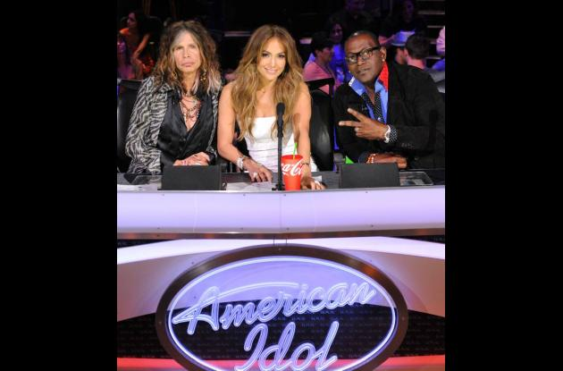 Steven Tyler, Jennifer Lopez y Randy Jackson, juices de  American Idol.