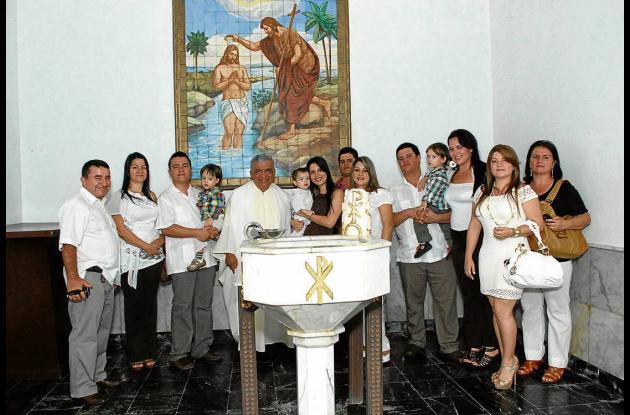 Bautizo de Jerónimo Alzate