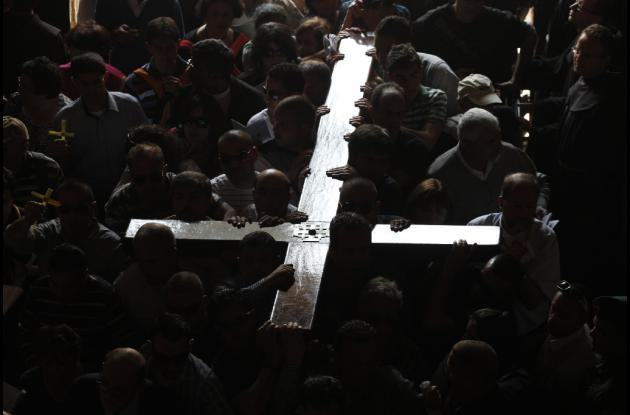 Cristiano en Jerusalén
