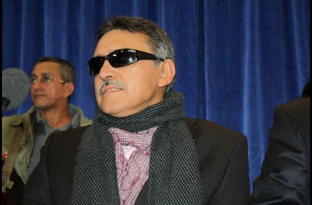 El jefe guerrillero de las Farc Jesús Santrich.