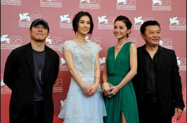 Jet Li estrena película en Venecia