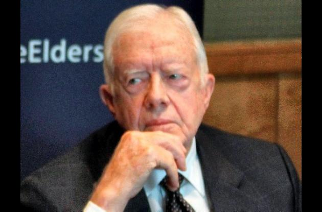 Jimmy Carter, expresidente de Estados Unidos, viaja a Cuba.