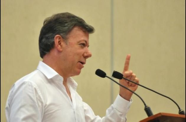 Presidente Santos, de Colombia
