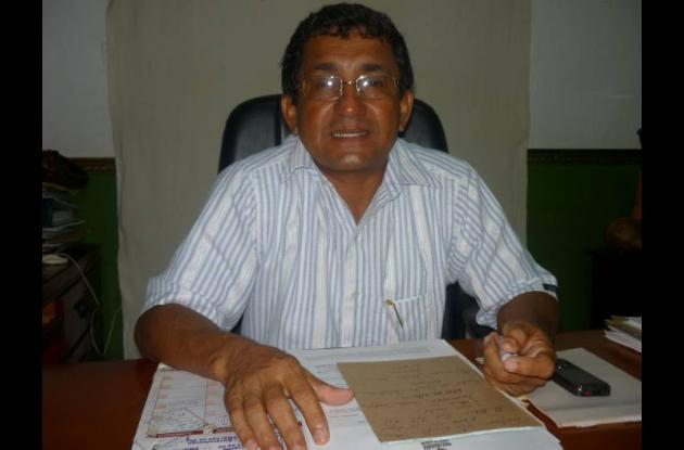 Joaquín Güette Herrera, ex alcalde de San Jacinto.