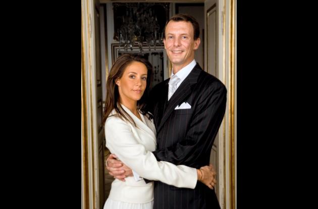 El príncipe Joaquín de Dinamarca y su esposa la princesa María.
