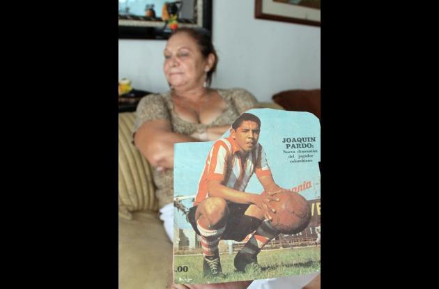 La desaparición de Joaco Pardo la dio a conocer su esposa, su esposa.