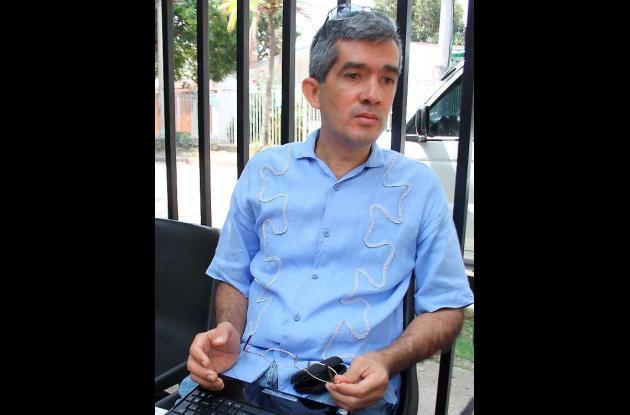 Joaquín Torres, abogado de trabajadoras sexuales del Parque del Centenario.