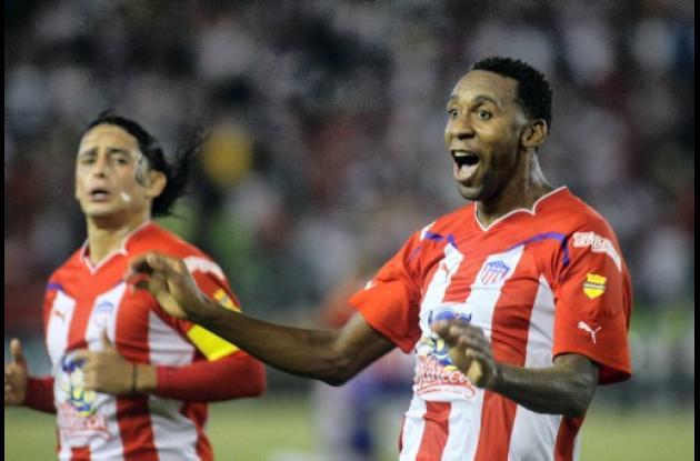 Junior derroto 2-1 a Gremio, con gol de John Viáfara