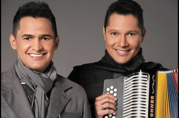 Jorge Celedón y Jimmy Zambrano.