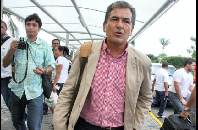 Jorge Luis Pinto llegó a Barranquilla para hacerse cargo de Junior.