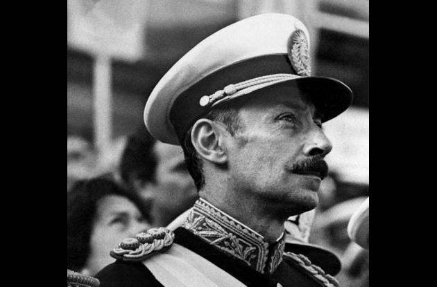 Jorge Rafael Videla, dictador de Argentina entre los años  1976 y 1981.