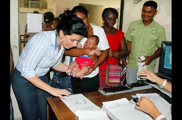 En Bolívar fueron registrados 390 niños.